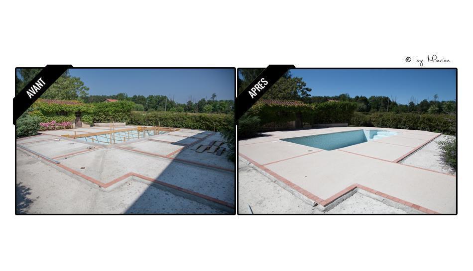 Amenagement exterieurs / Abords piscine